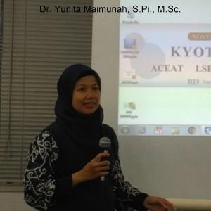 Dr. Yunita Maimunah, S.Pi., M.Sc.